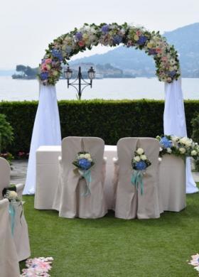 Siamo al Verde Fiori - Gli allestimenti floreali per il matrimonio a Varese