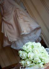 Bouquet classico di rose bianche