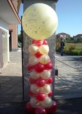 Il Punto Esclamativo - Decorazioni con palloncini per il matrimonio
