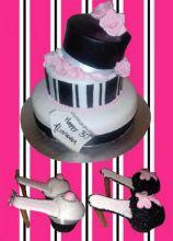 Fashion's cake e cupcake a forma di scarpe