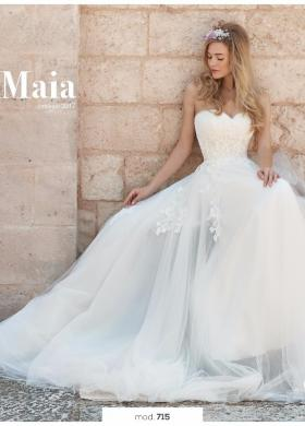 Angela Pascale Spose - Abito da sposa modello Maia - Nuova Collezione 2017 d82ccfb7d0e