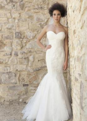 Angela Pascale Spose - Abito da sposa a sirena con scollo a cuore