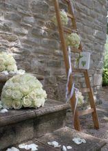 Rose bianche per il matrimonio - Milleluna Wedding & Party Planner Boutique