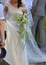 Bouquet sposa a fascio
