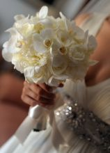 Bouquet Orchidee Sposa.Foto Bouquet Sposa Di Orchidee Lemienozze It