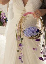 Bouquet a cestino per la sposa