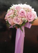 Bouquet rosa per la sposa
