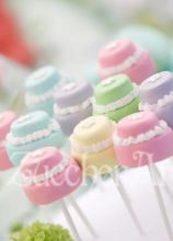 Cakepops colorati per il matrimonio