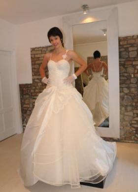 Abito da sposa in stile principesco