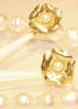 Collana e orecchini per la sposa