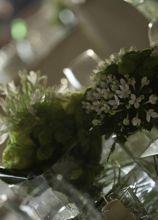 Decorazioni floreali per la location di nozze