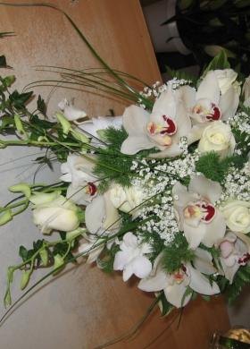 Bouquet Da Sposa Orchidee.Foto Bouquet Sposa Di Orchidee Lemienozze It