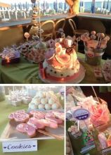 Dessert table battesimo