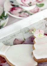 Biscotti abito da sposa