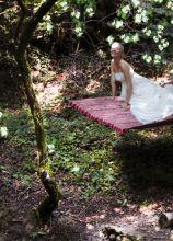 Abito da sposa tagliato sotto il seno - Modello Jasmine Collezione Princesses
