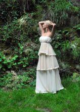 Vestito da sposa a balze - Collezione Princesses