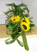 Composizione floreale particolare per il matrimonio