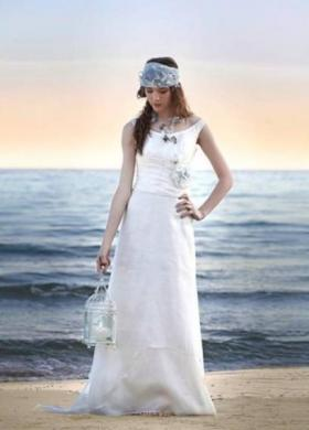 Daniela Gristina - Abito da sposa dallo stile mediterraneo