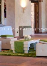 Scenografia d'interni per la location di nozze