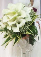 Bouquet di calle bianche