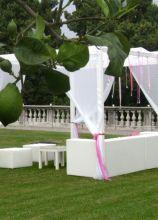 Gazebo per il matrimonio