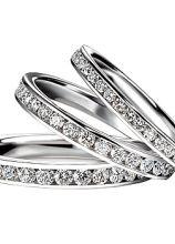 Riviere in oro bianco per la sposa