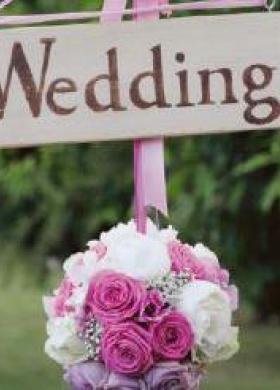 Allestimento floreale per il matrimonio - Bottega del Fiore a Chieti