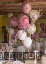 Decorazioni con palloncini per il ricevimento di matrimonio