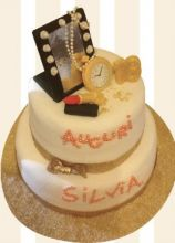 Glitter's cake