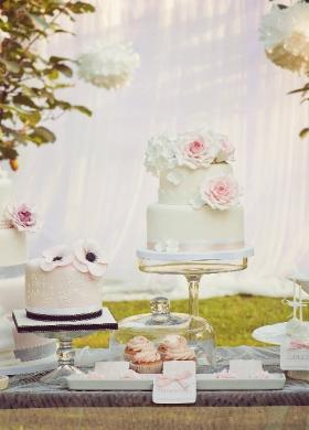 Sweet table per il matrimonio