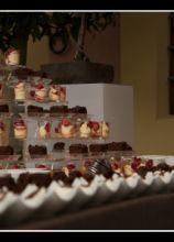 Composizione per il buffet di dolci