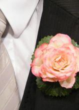 Fiore all'occhiello per lo sposo