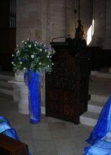Addobbi color blu per le nozze