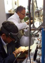 Laboratorio per la creazione dei gioielli