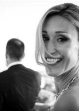 Capelli raccolti a chignon per il matrimonio