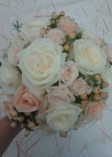 Bouquet sposa con rose