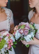 Bouquet in stile country per le damigelle