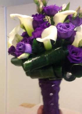 Arnoldo fiori - Bouquet con calle per la sposa