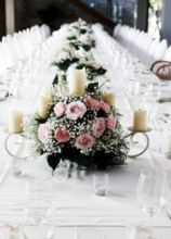 Tavolo imperiale per banchetto nuziale