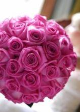 Bouquet di rosa della sposa
