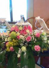 Matrimonio In Rosa : Fiori e allestimenti per un matrimonio in rosa lemienozze.it