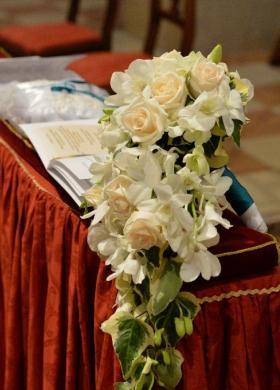 Allestimenti floreali per la chiesa