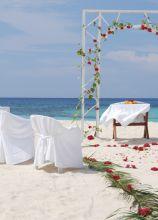 Organizzazione e allestimento di un matrimonio sulla spiaggia