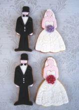 Biscotti a forma di sposi