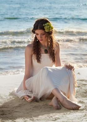 Daniela Gristina - Abito da sposa dal tessuto impalpabile