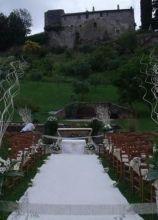 Allestimento nozze in campagna