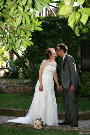 D'Aguanno Broadcast Foto - Il bacio degli sposi