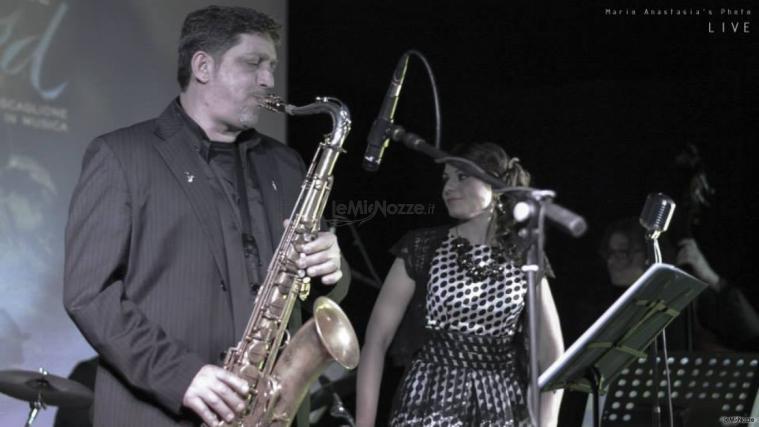 Summertime Trio - Un assolo al sax