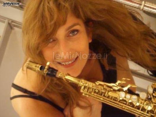 Matrimonio In Jazz : Ladies in jazz sassofonista foto