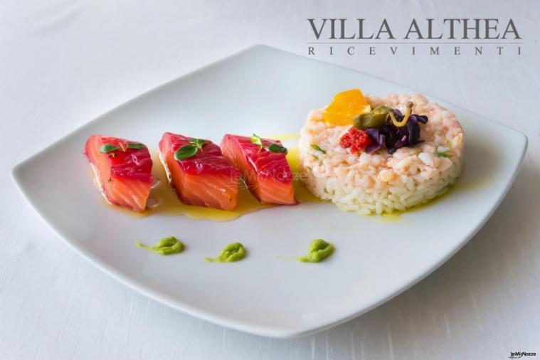 Villa Althea Ricevimenti - Delizie culinarie